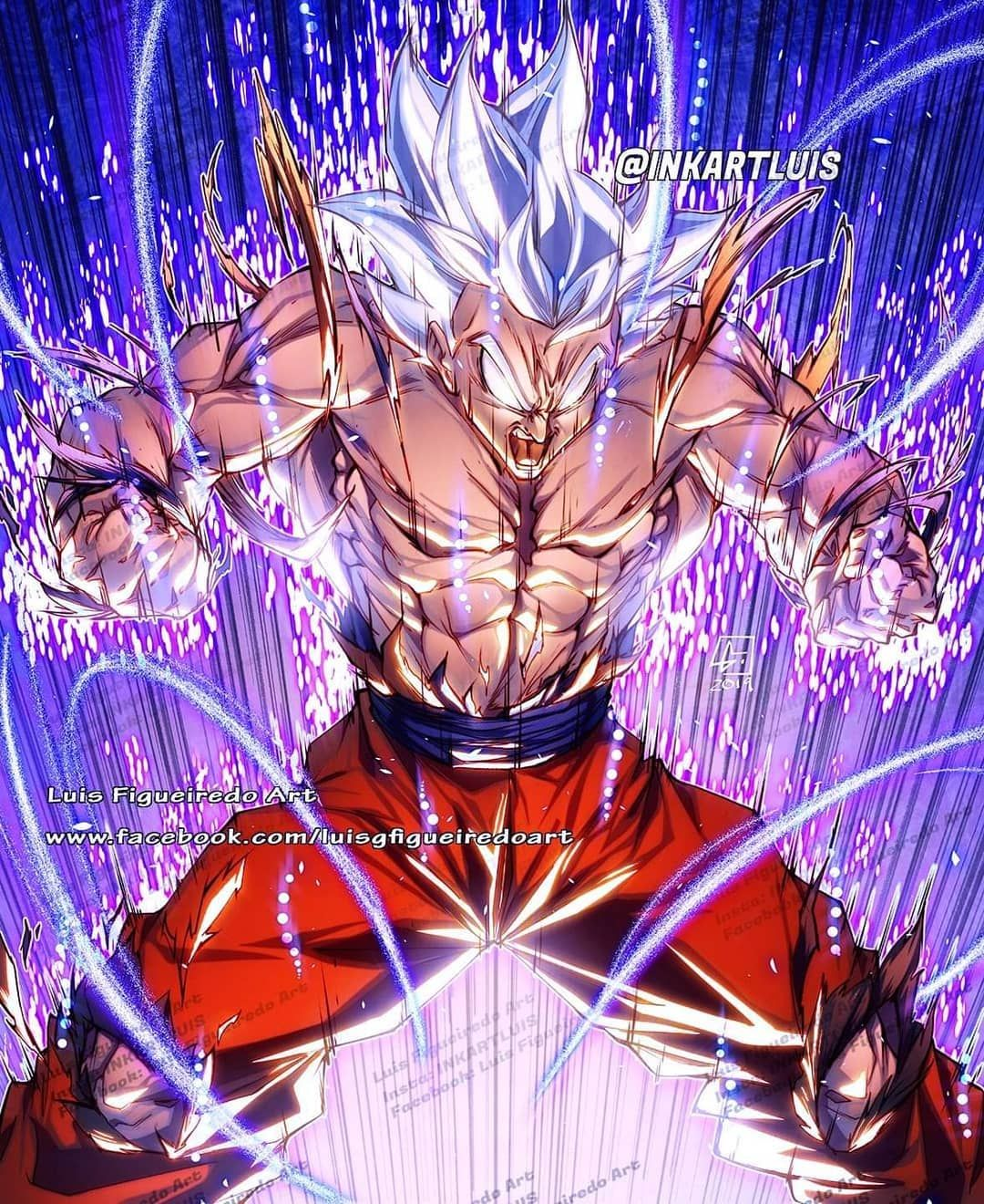 Luis Figueiredo Art On Instagram Goku Mui Transformation Who Is Ur Fav Saiyan Transformation E Dragon Ball Art Dragon Ball Super Goku Anime Character Design