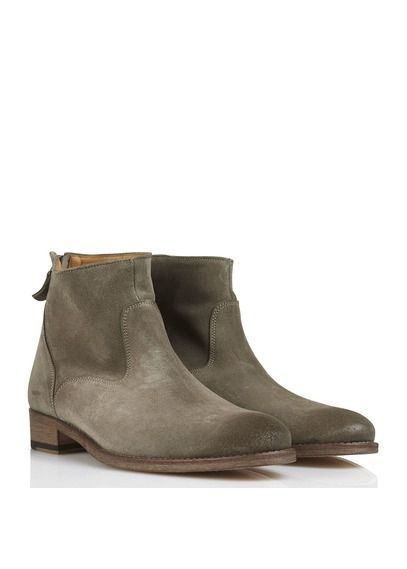 Anthology Paris Bottines en daim Beige lheHSYkGz