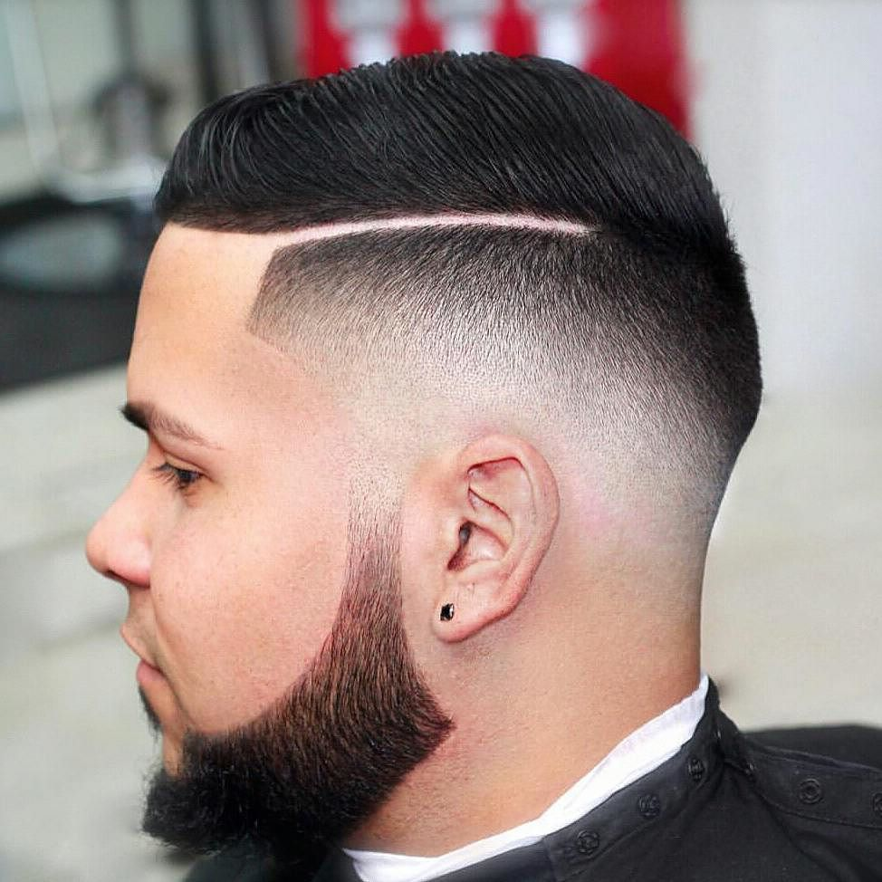 30 Sharp Line Up Hairstyles Precision Styling At Its Best Comb Over Fade Haircut Comb Over Fade Fade Haircut