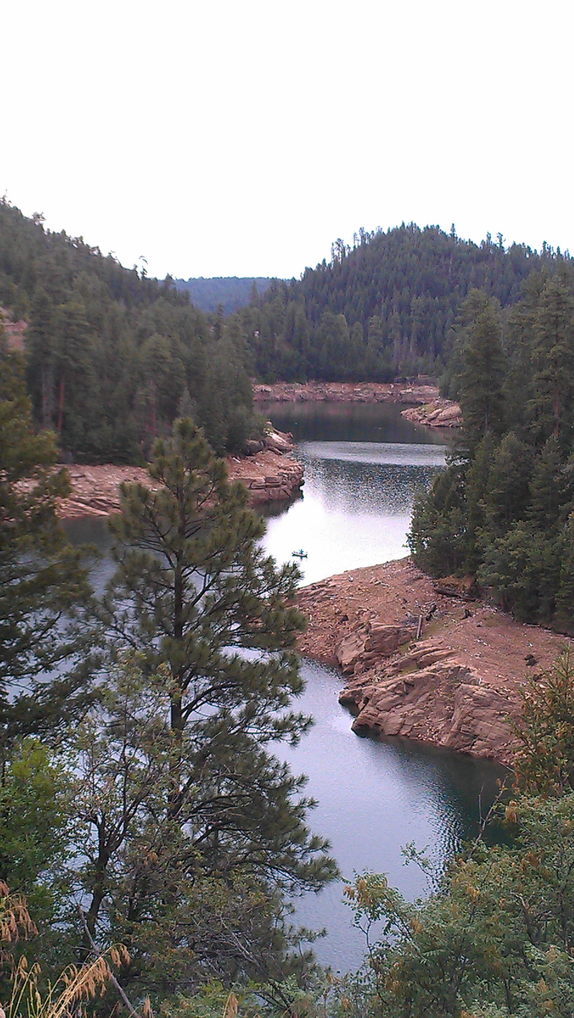 Blue Ridge Reservoir Happy Jack, Az Arizona road trip