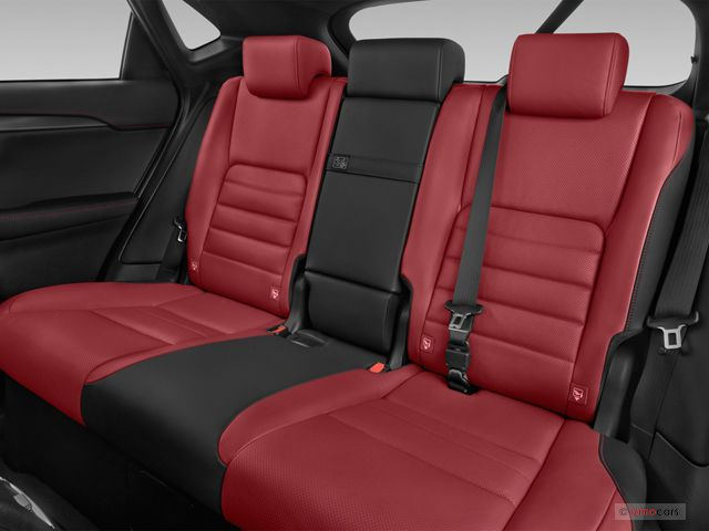 2016 Lexus Nx Interior Photos Red And Black Interior Rear Seat Backseat Lexus Interior Photo Car Seats