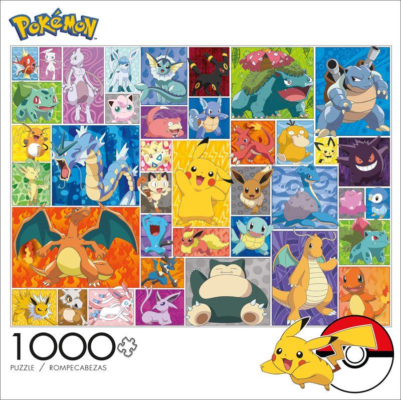 Pokemon Frames 1000 Piece Jigsaw Puzzle Pokemon Jigsaw Puzzles Buffalo Games