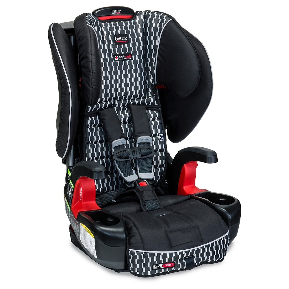 Britax Frontier ClickTight Harness to Booster in Groove