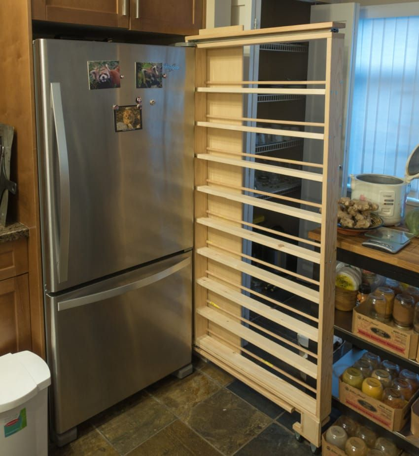 Finding Hidden Storage In Your Kitchen Pantry: Brilliant Homeowner Transforms Useless Gap Into Secret