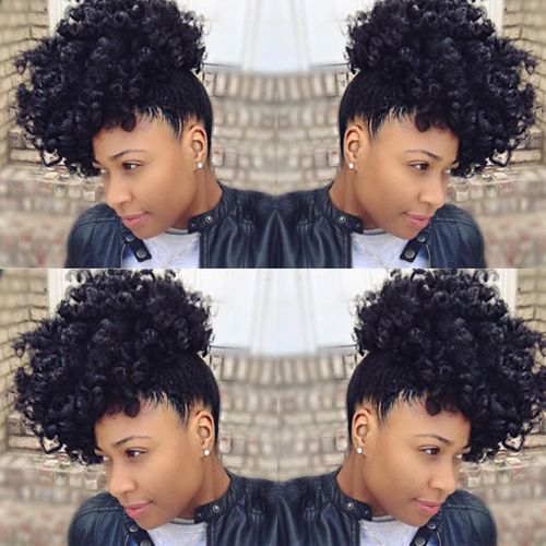 Natural African American Hairstyles Best Popular Natural Hairstyles For African American Women  African