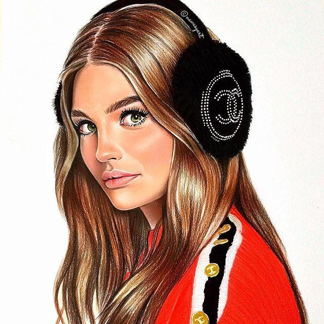 Красивые картинки девочки нарисованные, помним гордимся