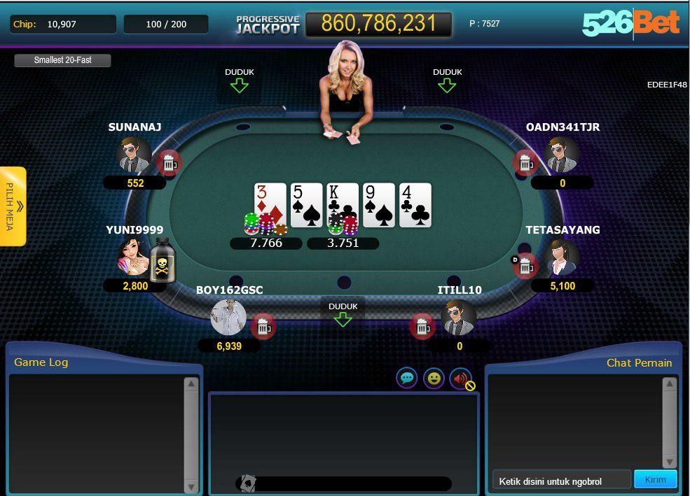 Poker Idnplay Poker Poker Games Texas Holdem Poker