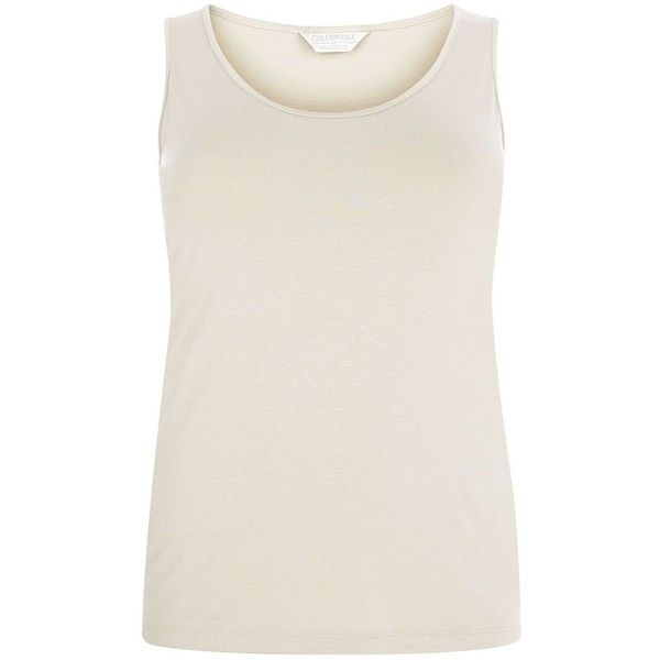 Windsmoor Oyster Vest (39 CAD) ❤ liked on Polyvore featuring outerwear, vests, neutral, women, sleeveless waistcoat, sleeveless vest, vest waistcoat and windsmoor