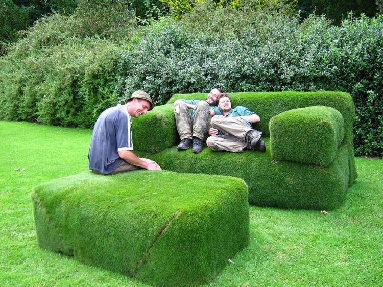 grassofa selber bauen hocker-sitzecke-garten Gartenarbeit und - garten sitzecke selber bauen