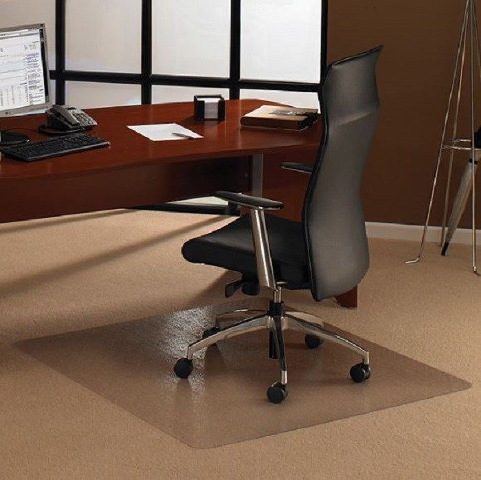 Chair Mat Clear 48 X 48 Pile Rug Carpet Floor Protector Casters Wear Prevention Cleartex Carpet Office Chair Mat Chair Mats Clear Chairs