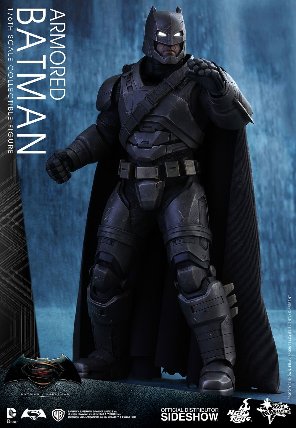 Dc Comics Armored Batman Sixth Scale Figure By Hot Toys Sideshow