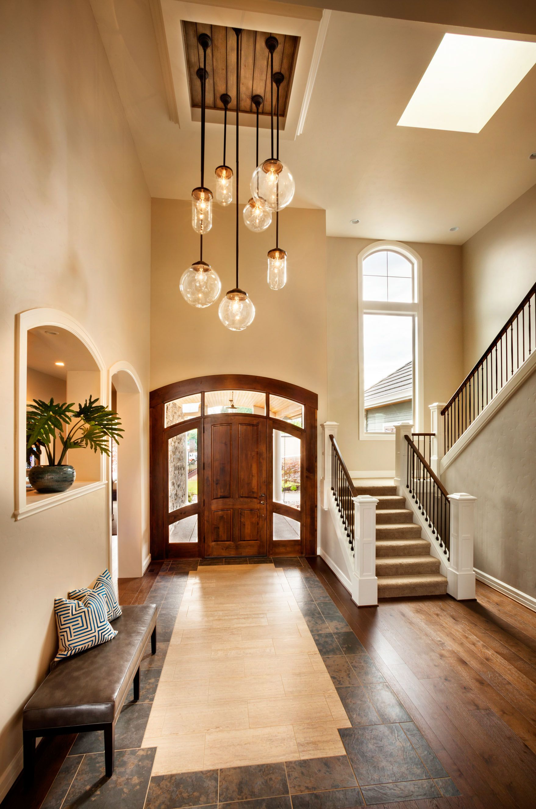 Large Entryway and Foyer Chandelier