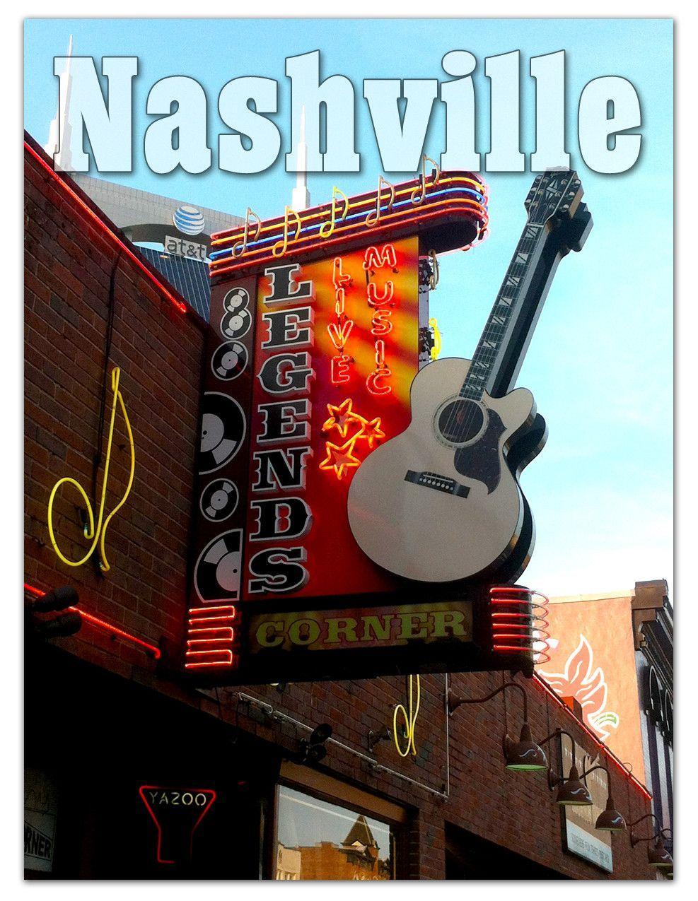 Nashville Picture Legends Corner Picture