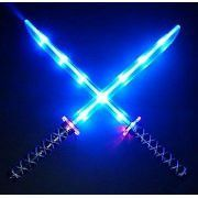 "24""Deluxe Ninja LED Light up Sword with Motion Activated Clanging Sounds (1pc) (US Seller)"