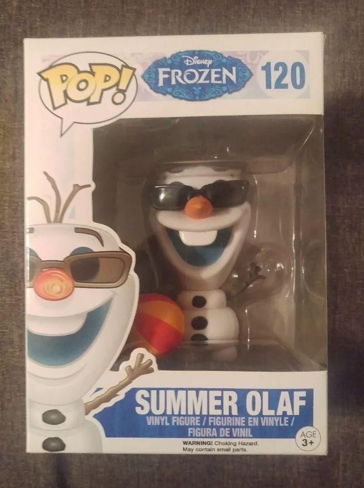 Disney Frozen Summer Olaf New in Stock Vinyl Funko Pop