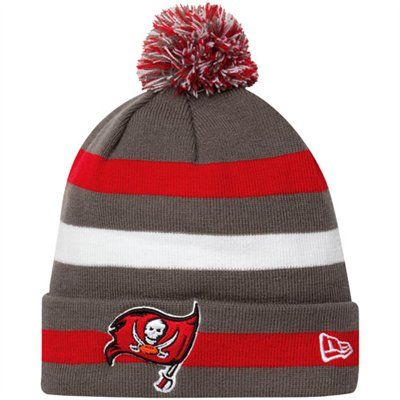 3b9be44c New Era Tampa Bay Buccaneers Sport Cuffed Knit Hat - Red/Pewter ...