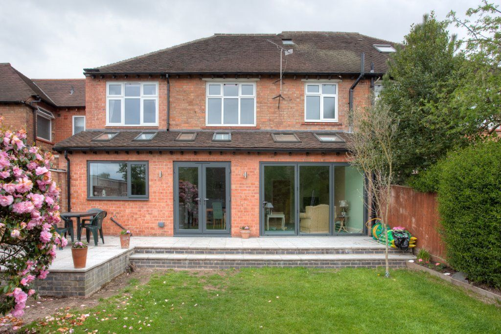Fullwidth Extension Available Makes Space This Use All The Ofthis Full Wid House Extension Plans Garden Room Extensions Semi Detached House Extension