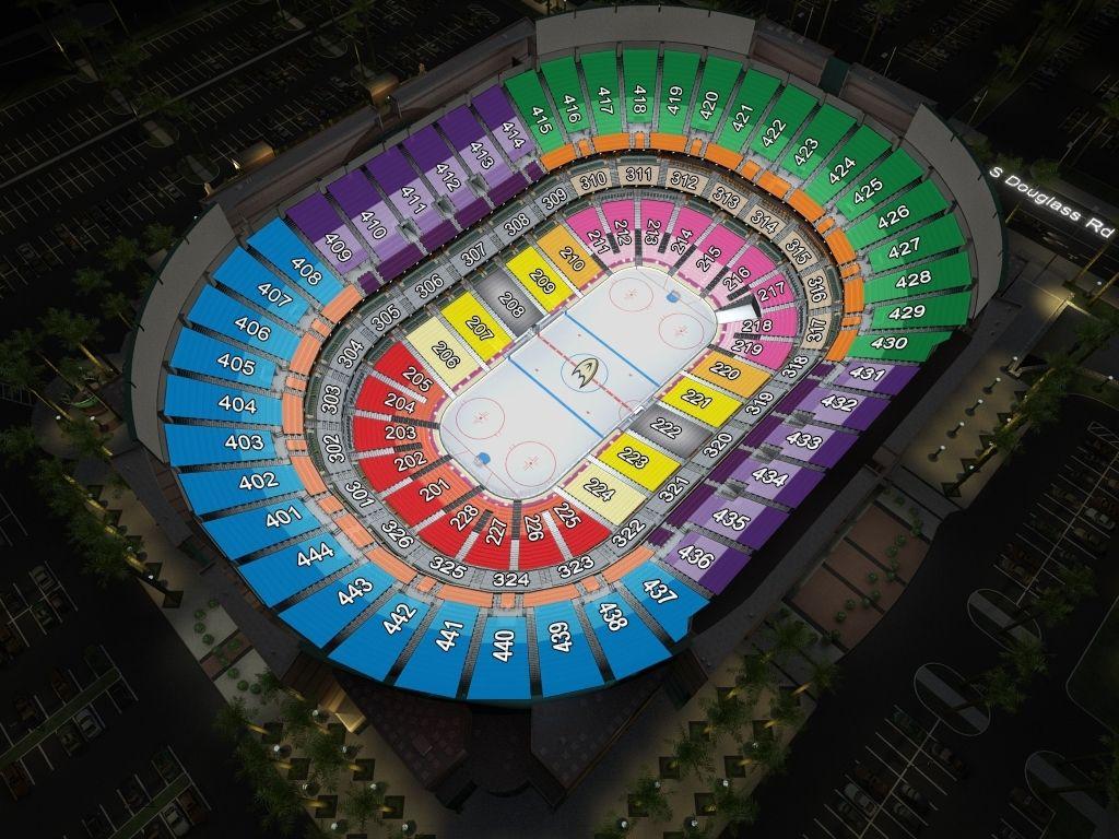 The Most Awesome Honda Center Seating Chart With Rows Dengan Gambar