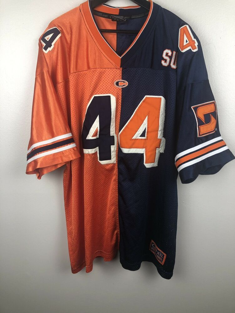 wholesale dealer f7b25 07622 Details about Syracuse University Orangemen Orange Football ...