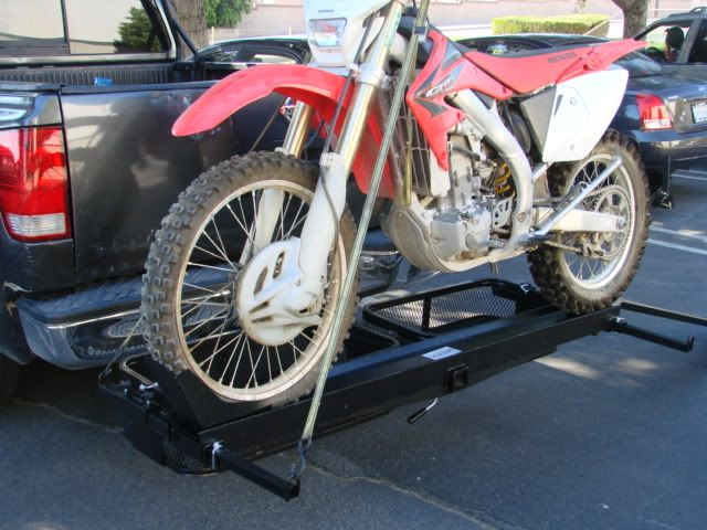 1000lb Dirt Bike Scooter Motorcycle Tow Hitch Carrier