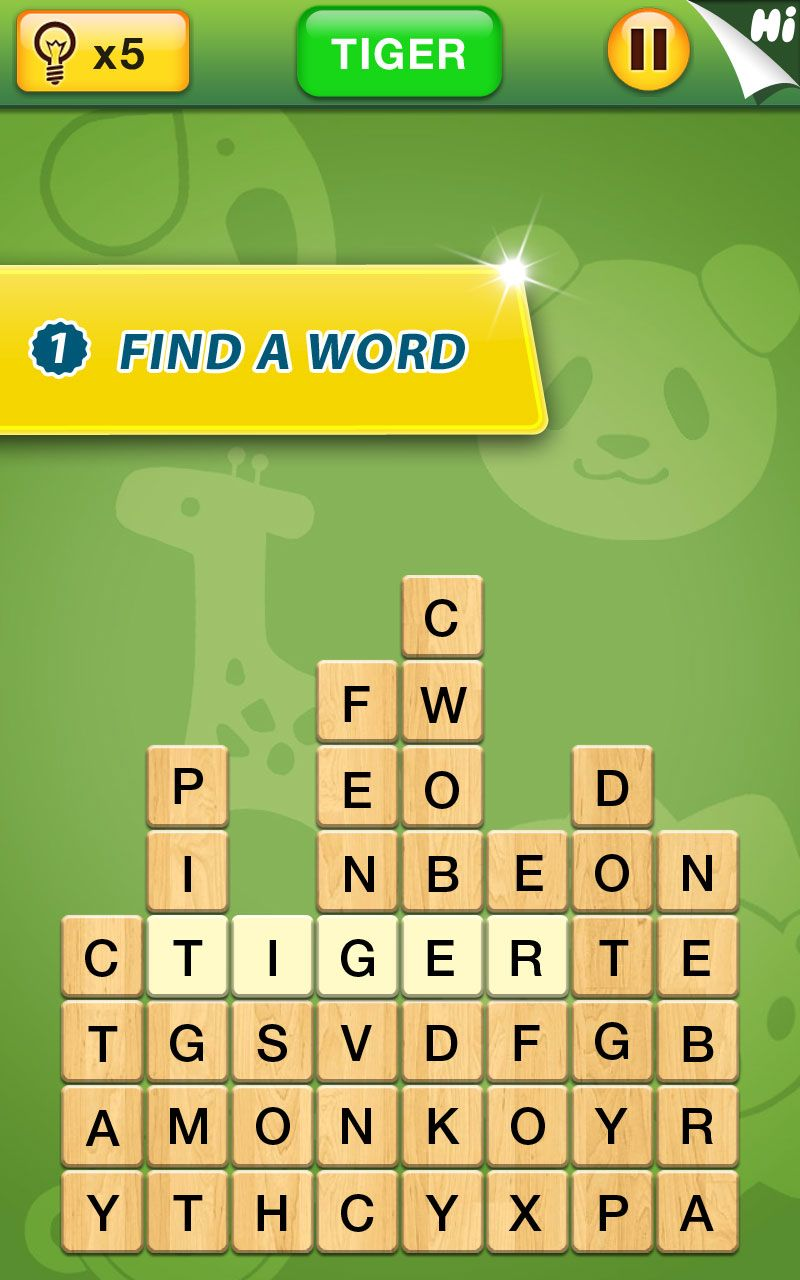 Crush Letters New Challenging Word Search Puzzle Game