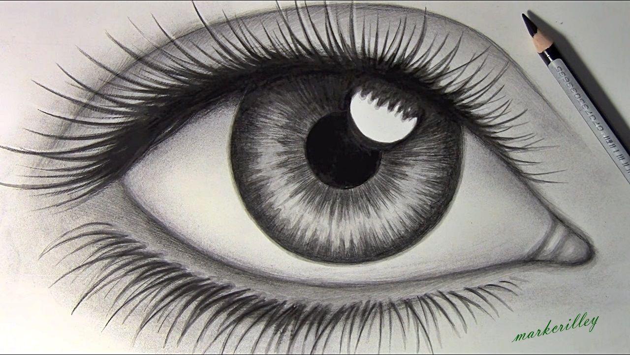 Ojo Realista Como Dibujar Cosas Ojos A Lapiz Dibujos De Ojos