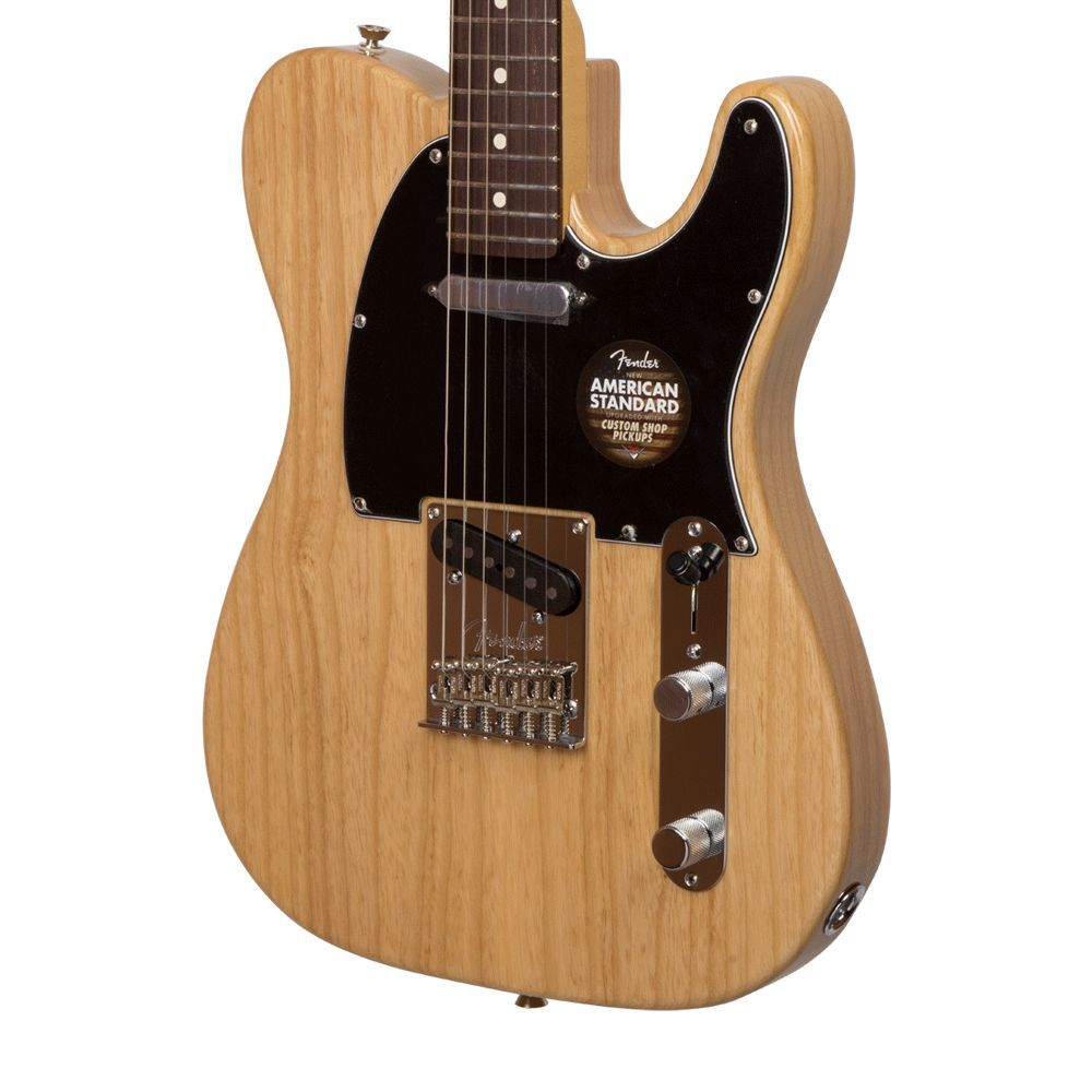 Fender American Standard Telecaster with Rosewood Fingerboard - Natural with Case