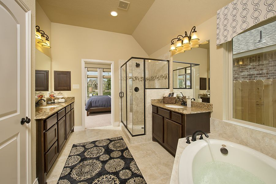 Model Home Bathroom new ventana lakes model home -2,714 sq. ft. - master bathroom