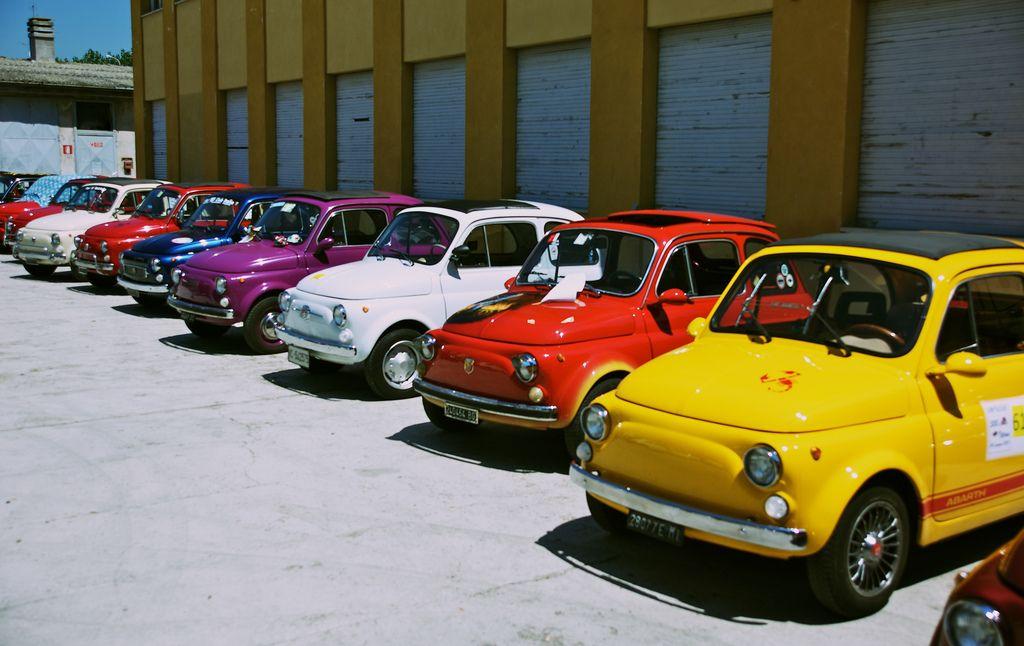 Di Tutti I Colori Fiat 500 5 Fiat 500 Fiat Cars