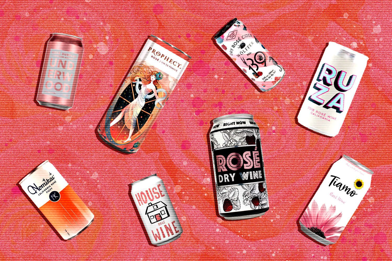 The 12 Canned Roses You Need This Summer Rose Drink Rose Wine Dry Wine