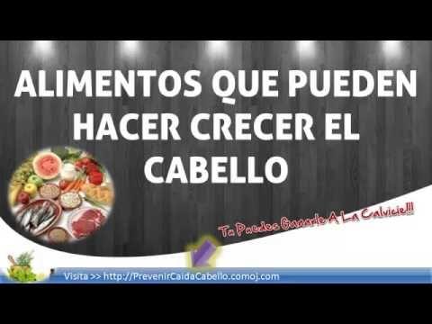 Alimentos Que Pueden Hacer Crecer El Cabello - Alimentos Para La Caida D...