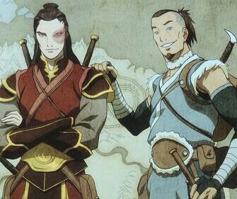 Airbender: All Grown Up - Fire Lord Zuko and Sokka (Best Friends)