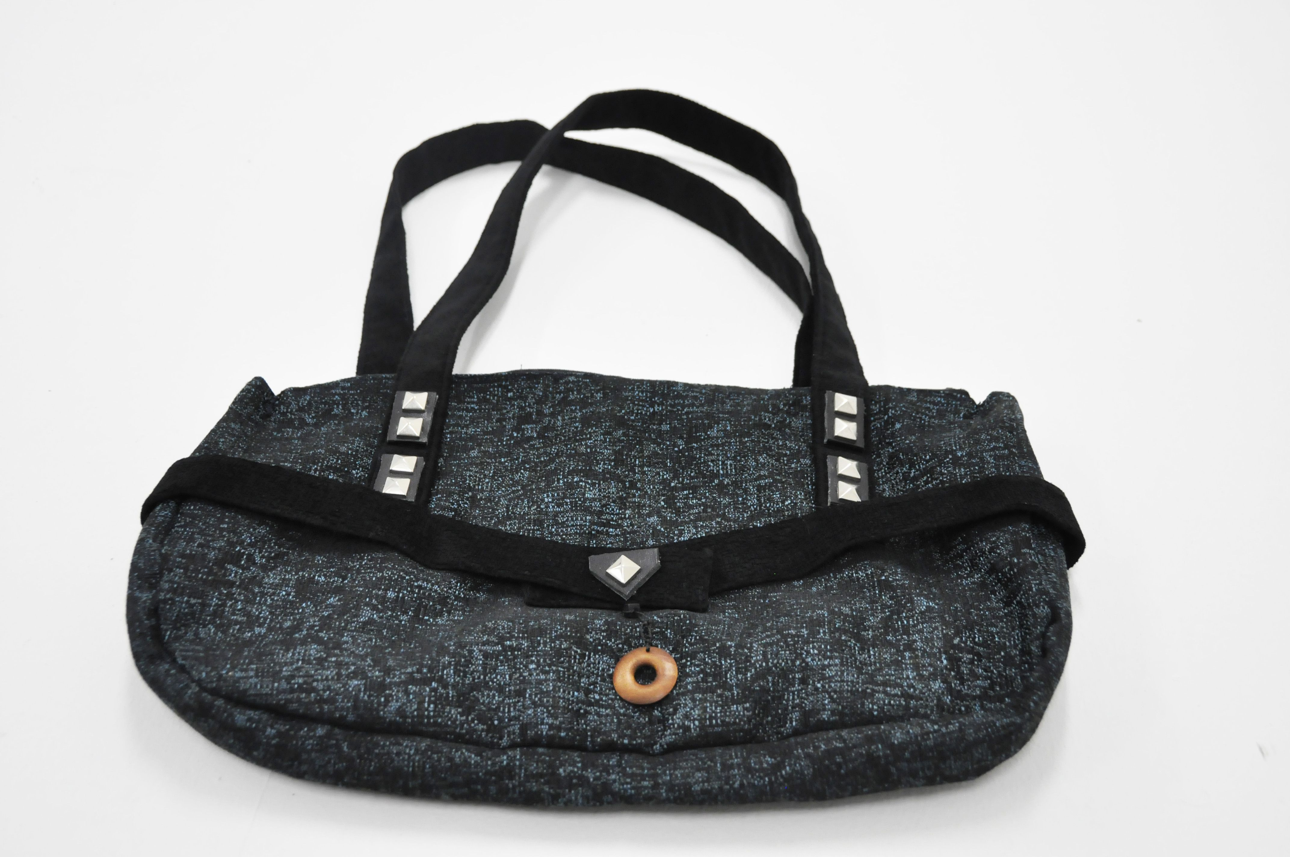 playing with textures, shapes and colors  As a result pretty and useful handbags