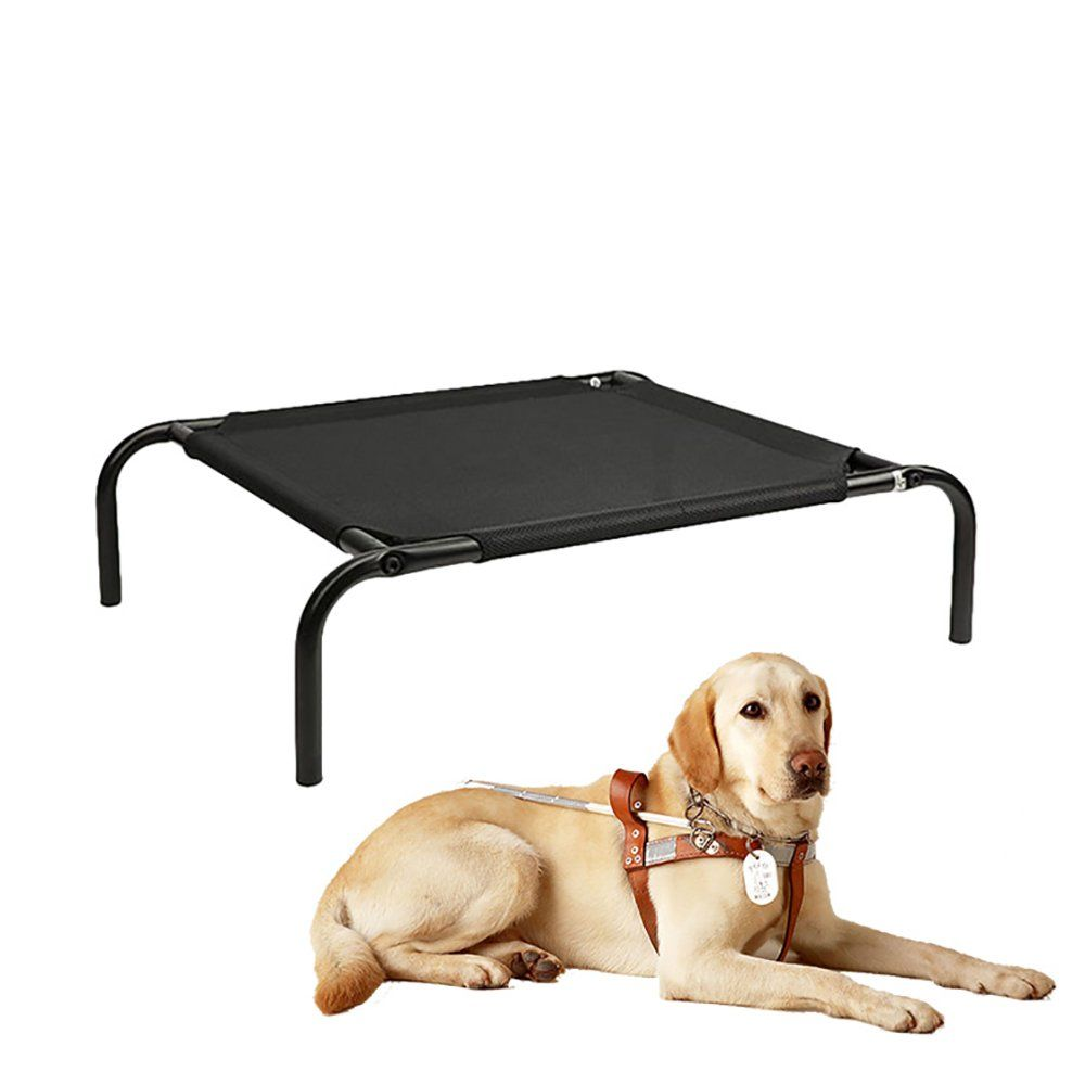 Urijk Elevated Pet Dog Bed Cooling Heavy Duty Mesh Dog Cot