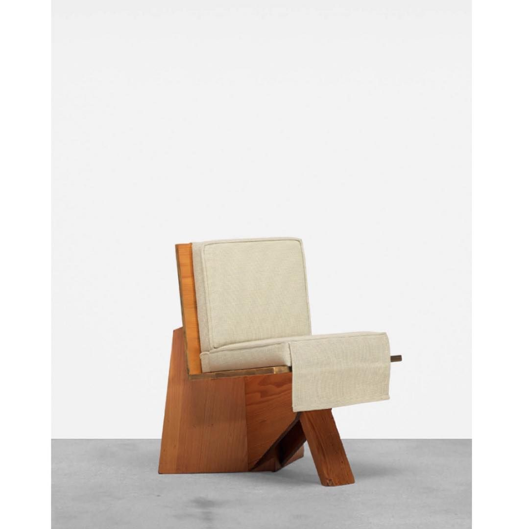 Incredible Frank Lloyd Wright Lounge Chair From The Clarence Sondern Theyellowbook Wood Chair Design Ideas Theyellowbookinfo