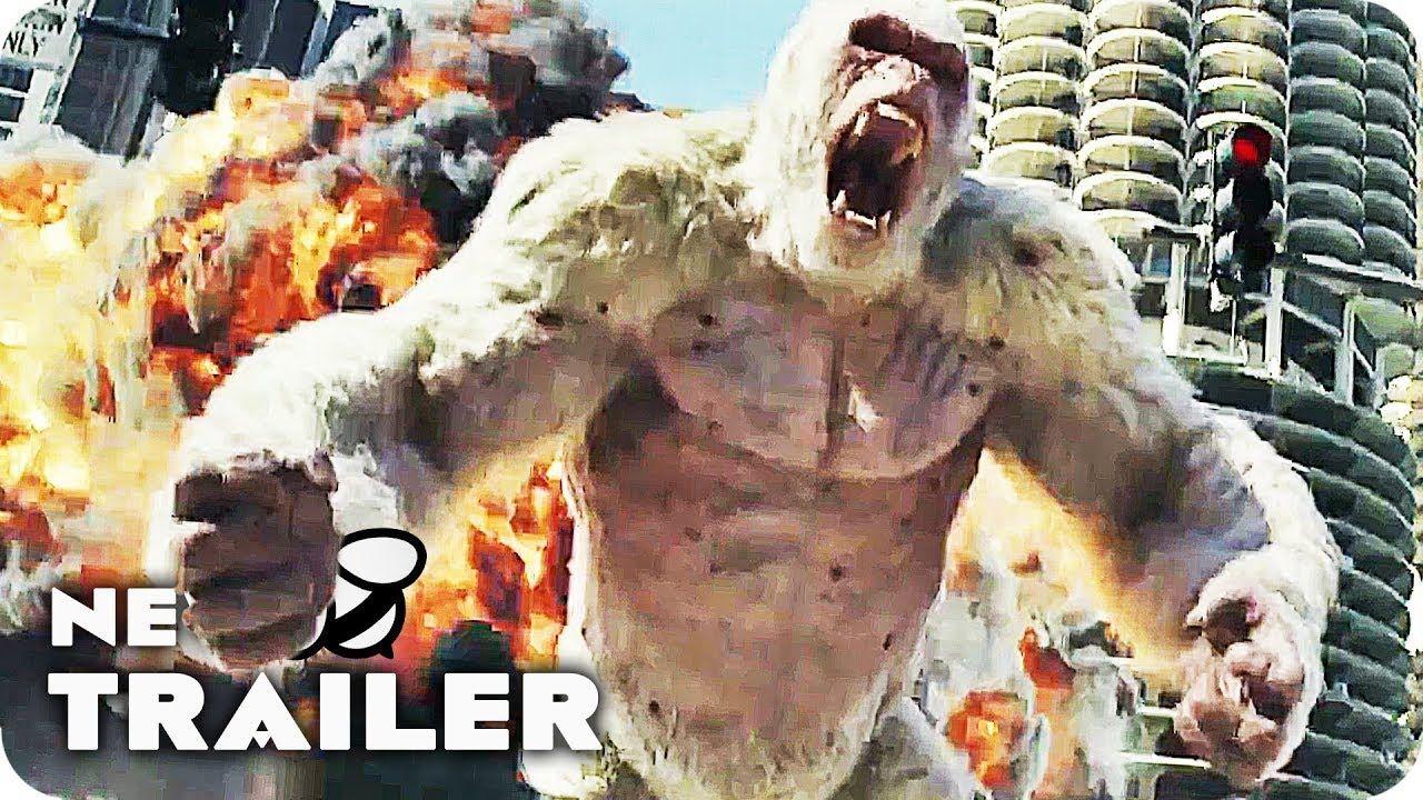 Rampage Trailer (2018) Dwayne Johnson, Jeffrey Dean Morgan