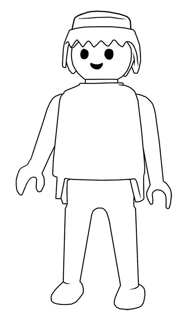 Coloriage imprimer personnages c l bres playmobil num ro 28887 diy pinterest - Dessin a faire sois meme ...