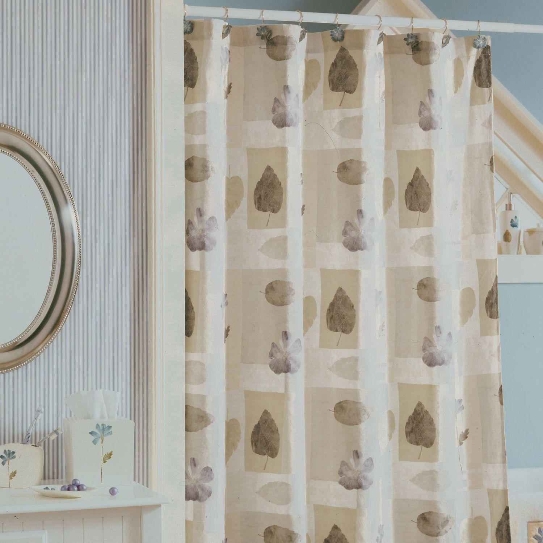 Marburn Curtain Warehouse Shower Curtains Croscill Spa Leaf