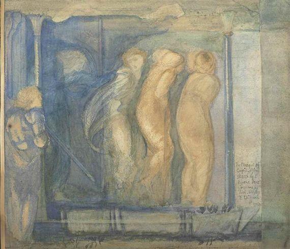 Edward Burne-Jones, The Masque of Cupid