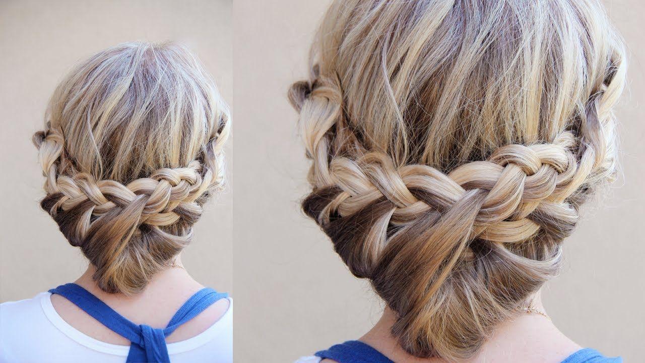 Adorable Bow Tie Braid Ponytail Hair Tutorial Princess Hairstyles Youtube