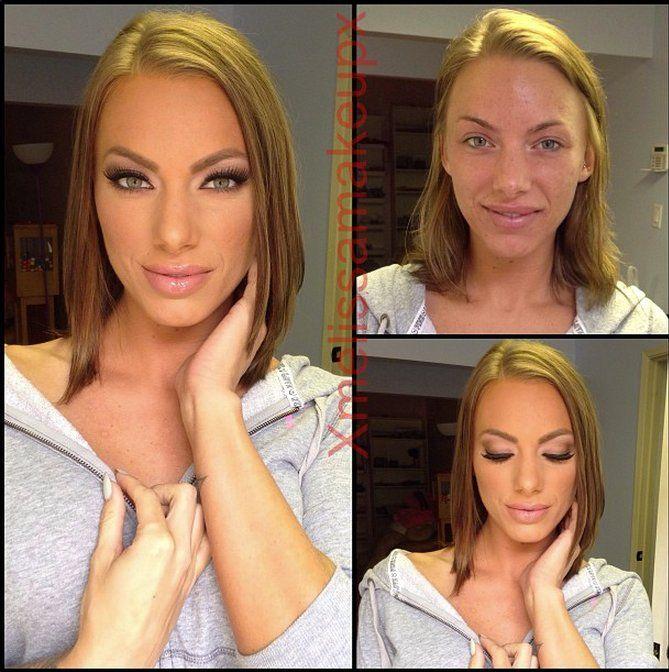 Before And After Makeup Photos Spark Debate On Reddit Slide
