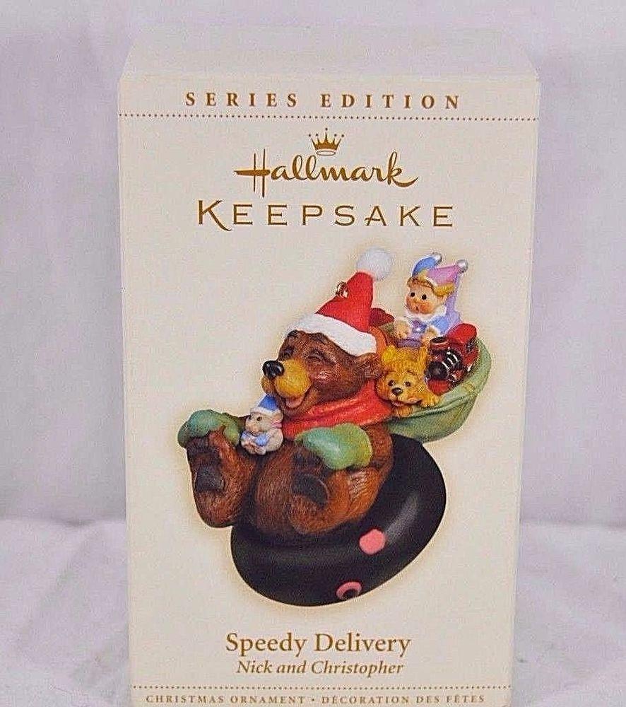 Hallmark Keepsake Ornament Speedy Delivery Nick