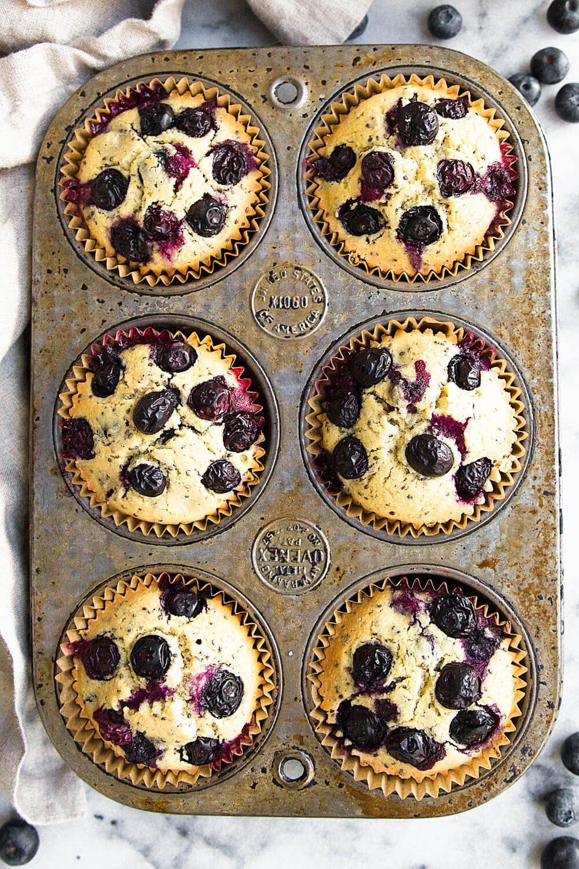Best Gluten Free Vegan Blueberry Muffins