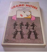 GRAND HOTEL Vicki Baum romanzo Mondadori libro