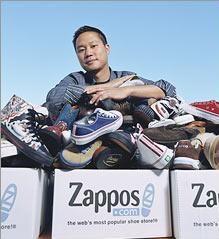 Zappos - sobre o pós venda: uma cliente queria devolver o sapato que tinha comprado para o marido, que havia morrido; ela não só recebeu o dinheiro de volta como também um buquê de flores de condolências.