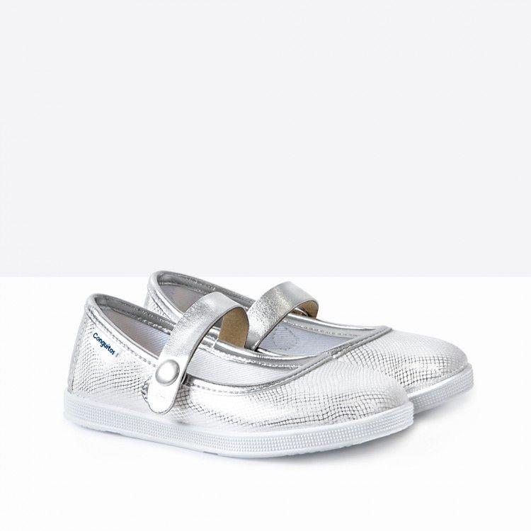 8dd11ffc Merceditas de Niña Metalizado Plata - Calzado - Niña - Conguitos #conguitos  #niña #