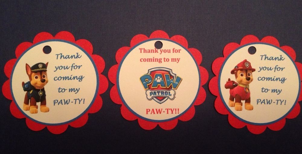 Fireman Sam Personalised Thank You Birthday Stickers Labels Party Bag Seals