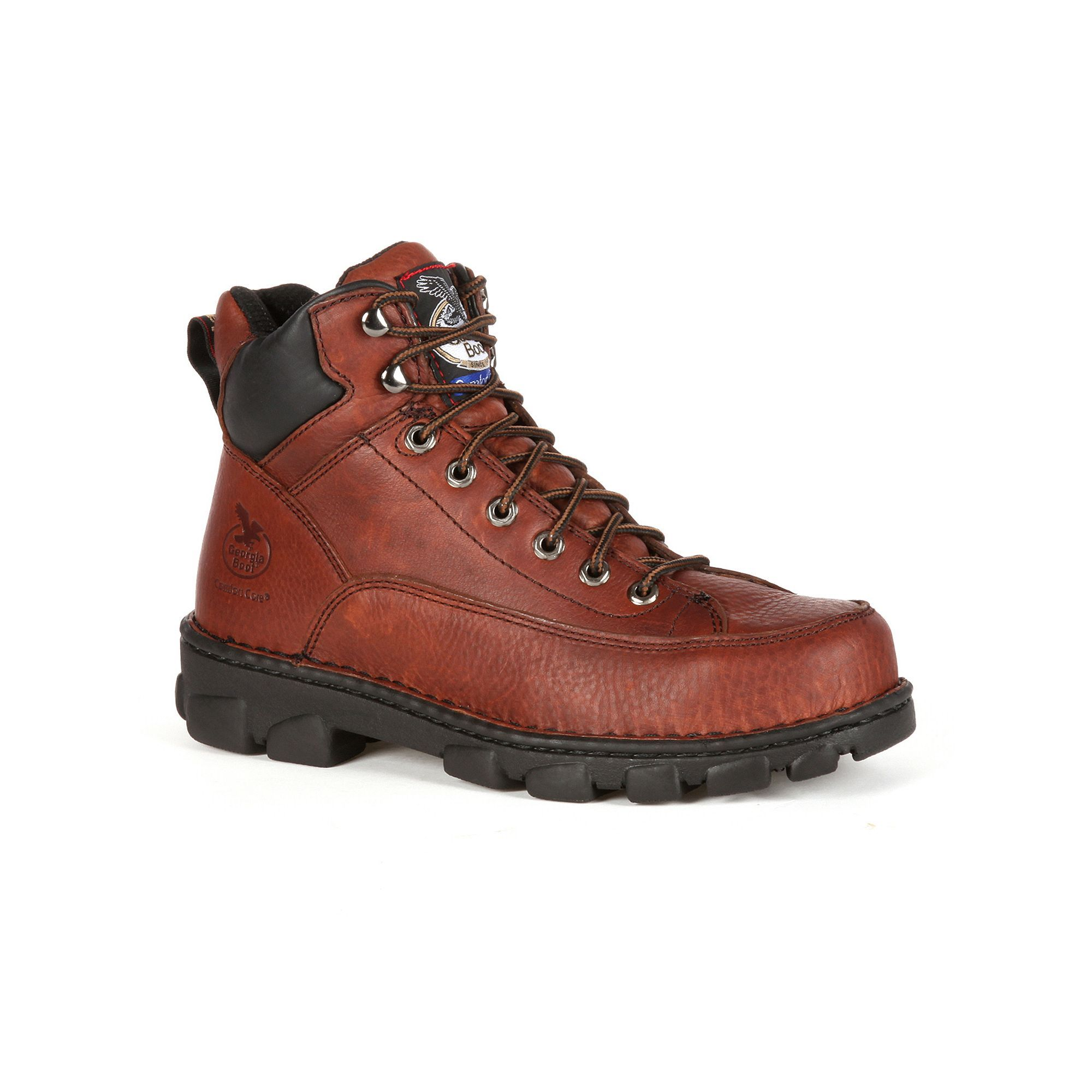 for sale the cheapest Georgia Boot Eagle Light Wide ... Load Men's 6-in. Steel-Toe Work Boots comfortable sale online DffnZQe3Y