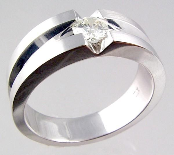 cool wedding rings Unique Diamond Wedding Rings A Simple
