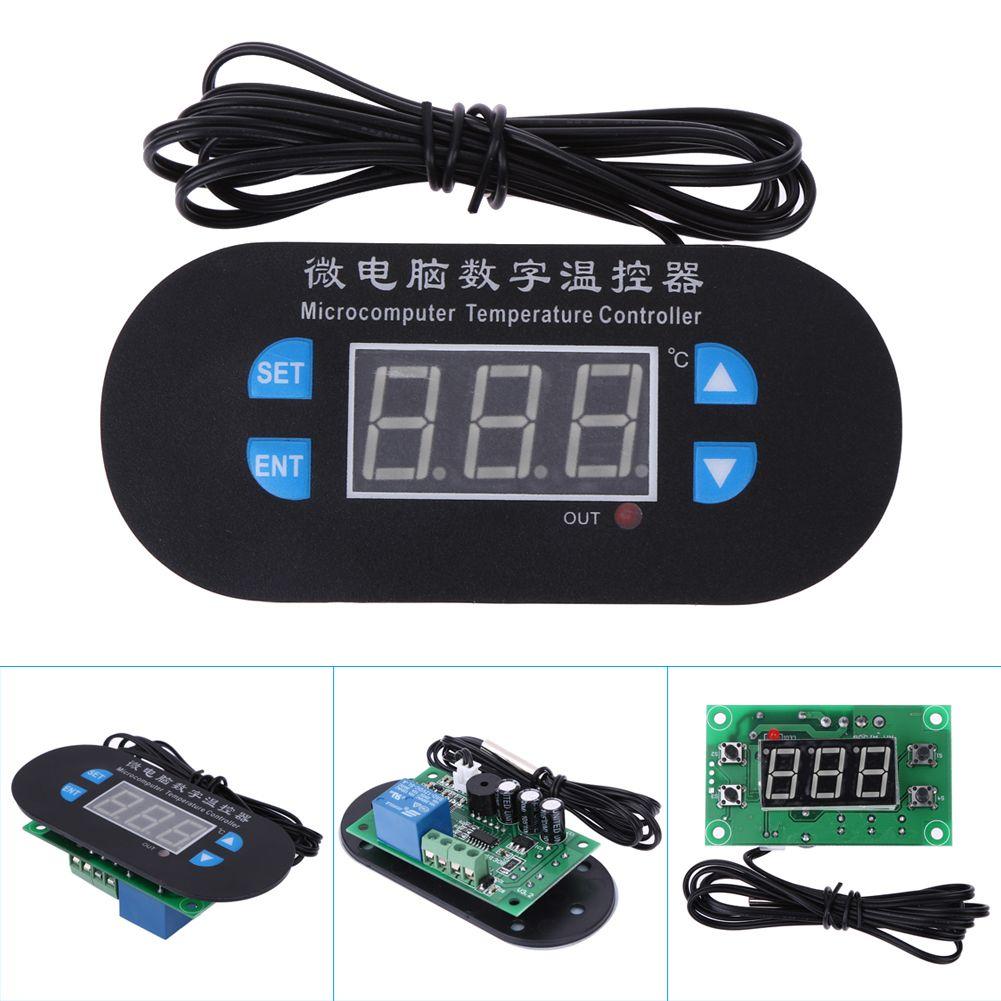 Digital LED Heat Cool Thermostat Temperature Controller Sensor Hottest DC 12V Business, Office & Industrial